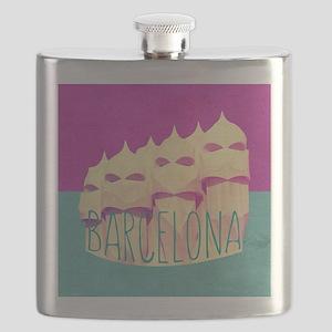 Barcelona Gaudi Paradise Flask