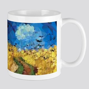 Van Gogh Wheatfield Crows Mugs