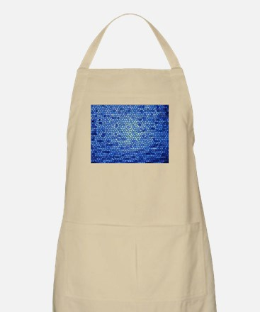 Blue & purple color stained glass pattern Apron