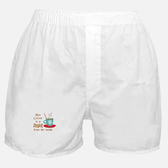 A HUG FROM THE INSIDE Boxer Shorts