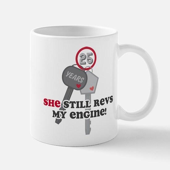 She Revs My Engine 25 Mug