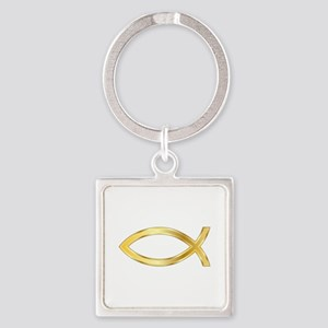 LARGE CHRISTIAN FISH Keychains
