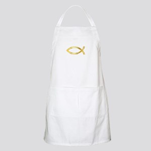 LARGE CHRISTIAN FISH Apron