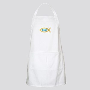CHRISTIAN FISH JESUS Apron