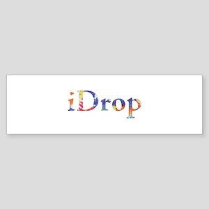 iDrop Bumper Sticker