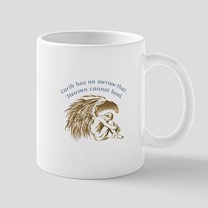 EARTH HAS NO SORROW Mugs