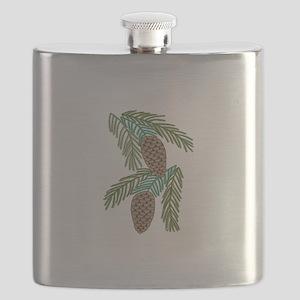 PINE CONES Flask