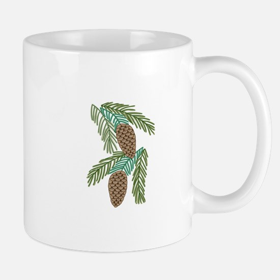 PINE CONES Mugs