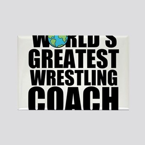 World's Greatest Wrestling Coach Magnets