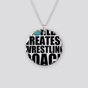 World's Greatest Wrestling Coach Necklace