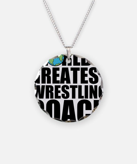 Wrestling mom necklaces wrestling mom dog tags necklace charms world39s greatest wrestling coach necklace aloadofball Image collections