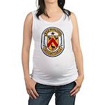 USS FANNING Maternity Tank Top