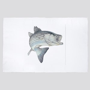 stripe bass 4' x 6' Rug