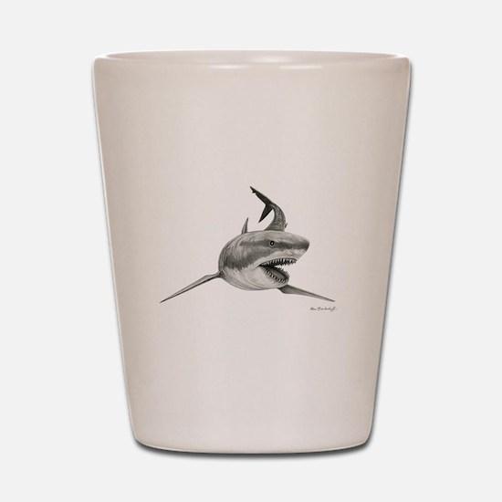 Great White Shark ~ Shot Glass