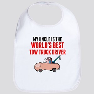 My Uncle Is The Worlds Best Tow Truck Driver Bib