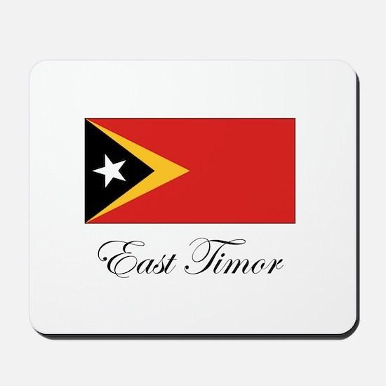 East Timor - Flag Mousepad