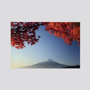 Mt Fuji  Rectangle Magnet