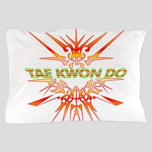 TKD Abstract Sparring Pillow Case