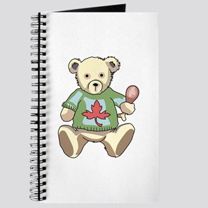 Thanksgiving Teddy Bear Journal