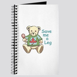 Save me A Leg Journal