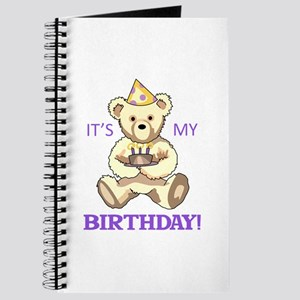 Its My Birthday Journal