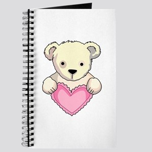 Teddy With Heart Journal