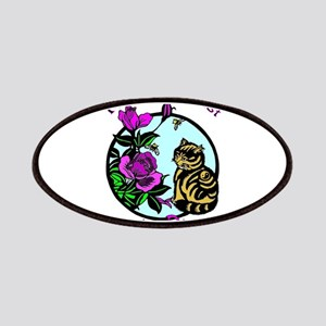 Martial Artist Tiger in Disguise Patch