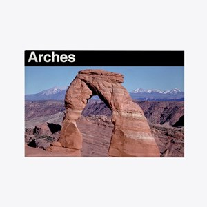 Arches NP Rectangle Magnet (100 pack)