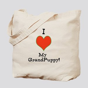 t-shirt for grandparents of dogs Tote Bag