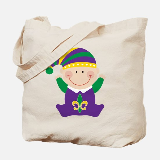 Mardi Gras Kids Holiday Tote Bag