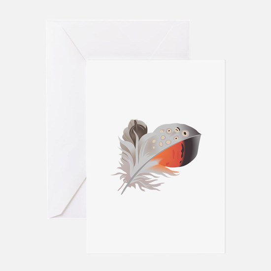 FEATHER Greeting Cards