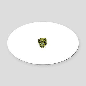 Nassau County Sheriff Oval Car Magnet