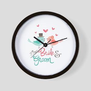 The Bride & Groom Wall Clock