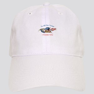I THANK OUR TROOPS Baseball Cap
