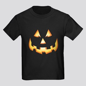 Jack-O'-Lantern Kids Dark T-Shirt