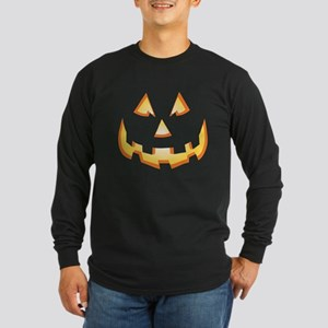 Jack-O'-Lantern Long Sleeve Dark T-Shirt