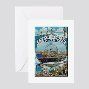 Santa Monica Greeting Cards