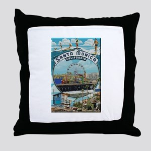 Santa Monica Throw Pillow