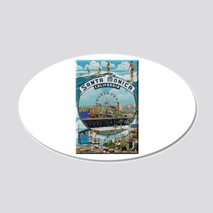 Santa Monica Wall Decal