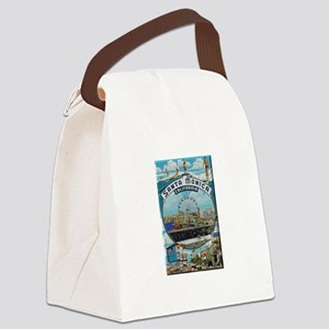 Santa Monica Canvas Lunch Bag