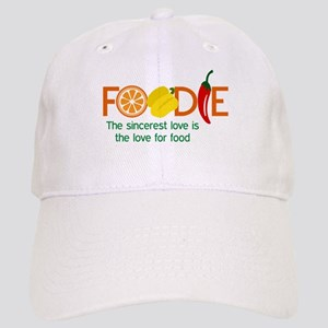 the love for food Baseball Cap