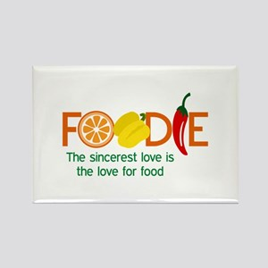 the love for food Magnets