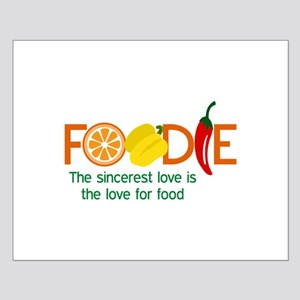 the love for food Posters