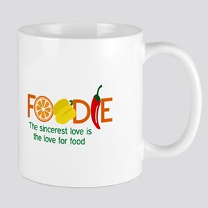 the love for food Mugs