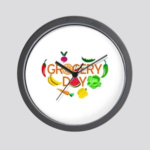 gocery day Wall Clock