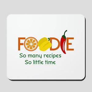 so many recipes Mousepad