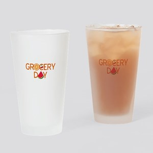 gocery day Drinking Glass