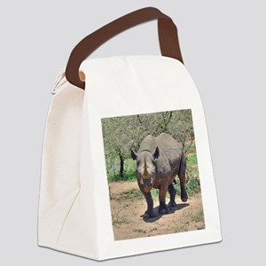 Rhinoceros Canvas Lunch Bag