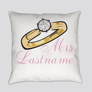 Personalized Mrs. Everyday Pillow