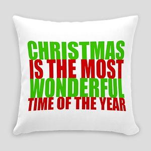 Wonderful Christmas Everyday Pillow